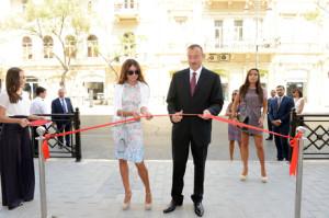 Ilham_Aliyev_Mekteb_Acilishi