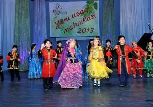 """""""Yeni uşaq mahnıları - 2013"""" Ümumrespublika Müsabiqəsinin yekun konserti-2"""