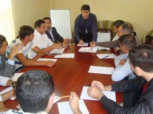 Beyləqan, Biləsuvar və imishli rayonları üçün keçirilən treninqlər