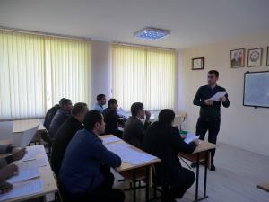 """Sabirabad rayonunda """"Exit-poll"""" tədqiqatı ilə bağlı təlimlər keçirildi"""