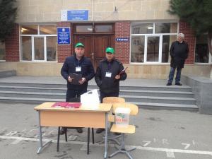 Binəqədi və Nizami rayonlarında