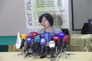 """İradə Yaqubova """"Ekzit-poll"""" tədqiqatının yekun nəticələrini açıqladı"""